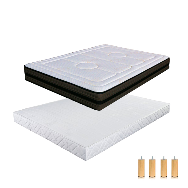 matelas latex ferme cheap le matelas latex boral est luexprience ultime du latex une base de. Black Bedroom Furniture Sets. Home Design Ideas